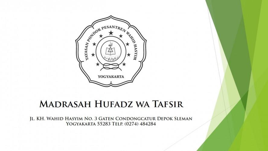 Madrasah Hufadz wa Tafsir